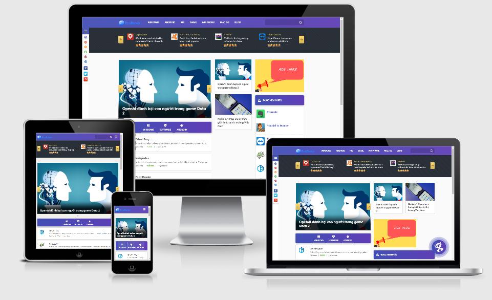 Theme WordPress tải phần mềm – ProDown