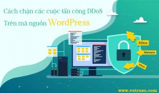 Cách chặn các cuộc tấn công DDoS vào WordPress