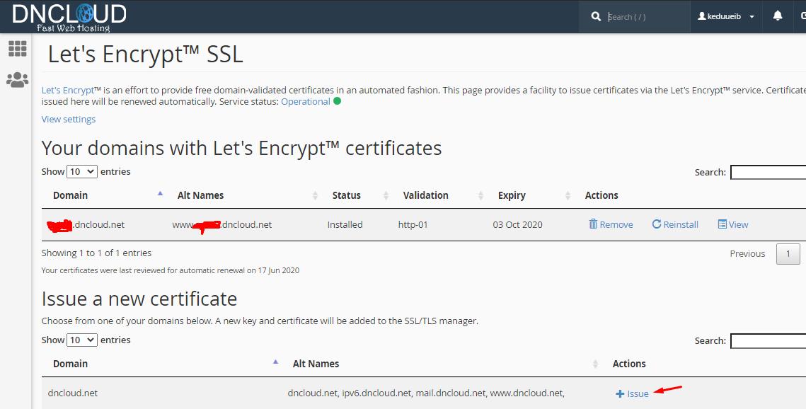 hướng dẫn cài đặt chứng chỉ ssl lets encypt