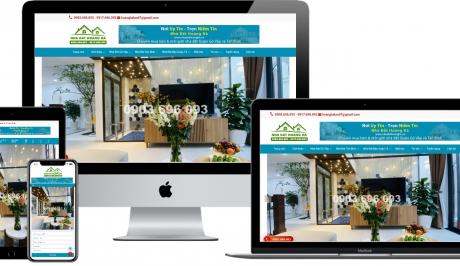 Mẫu giao diện website bất động sản – NĐHH