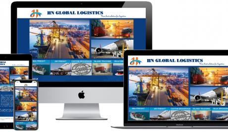 Website đơn giản cho công ty – LOGISTICS
