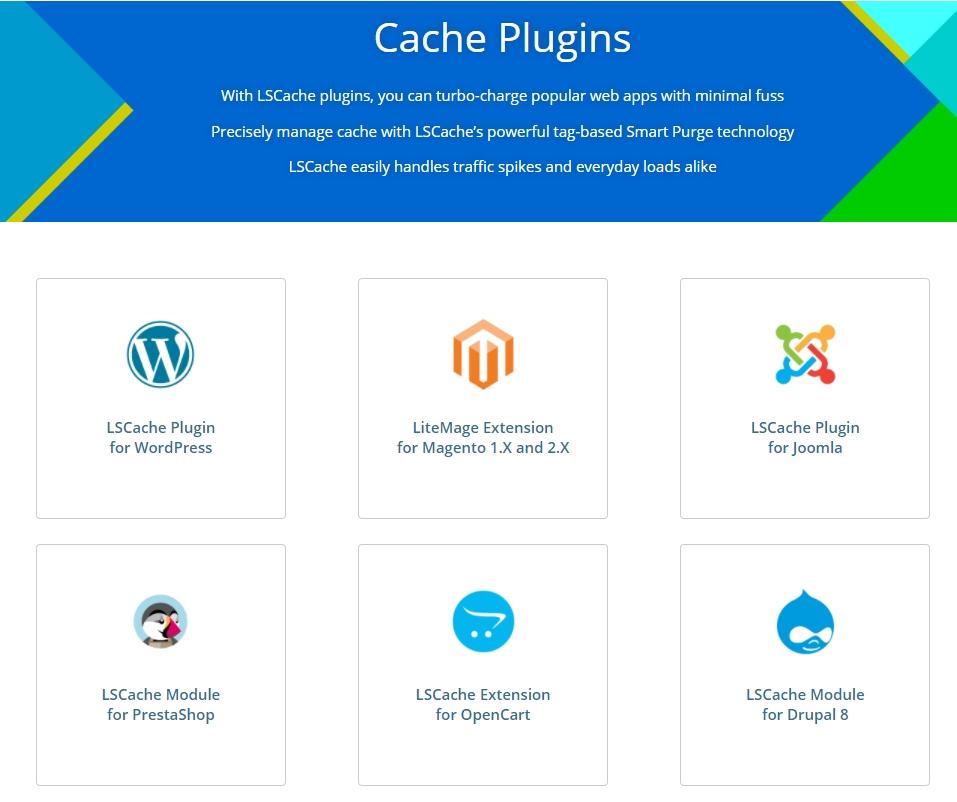 cache plugins cho mọi mã nguồn