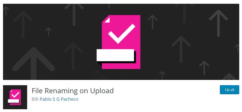 file renaming on upload
